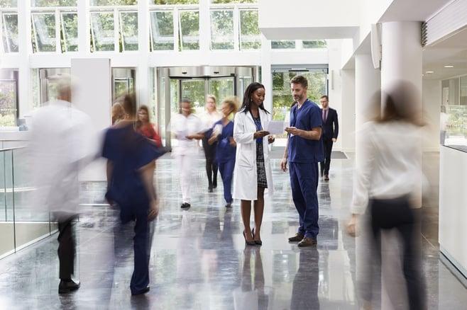 Hospital lobby healthcare Visitor Management.jpg