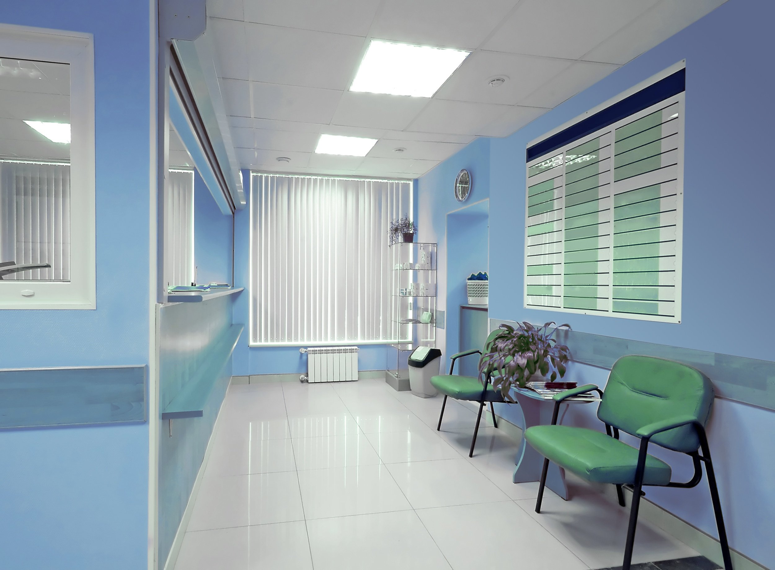 hospital security procedures, including monitoring facilities