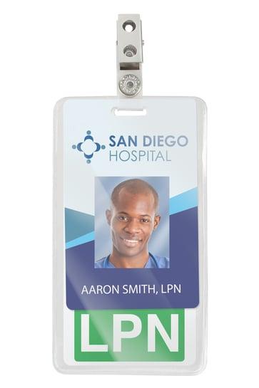 vertical badge buddies badge holder with an ID card.jpg