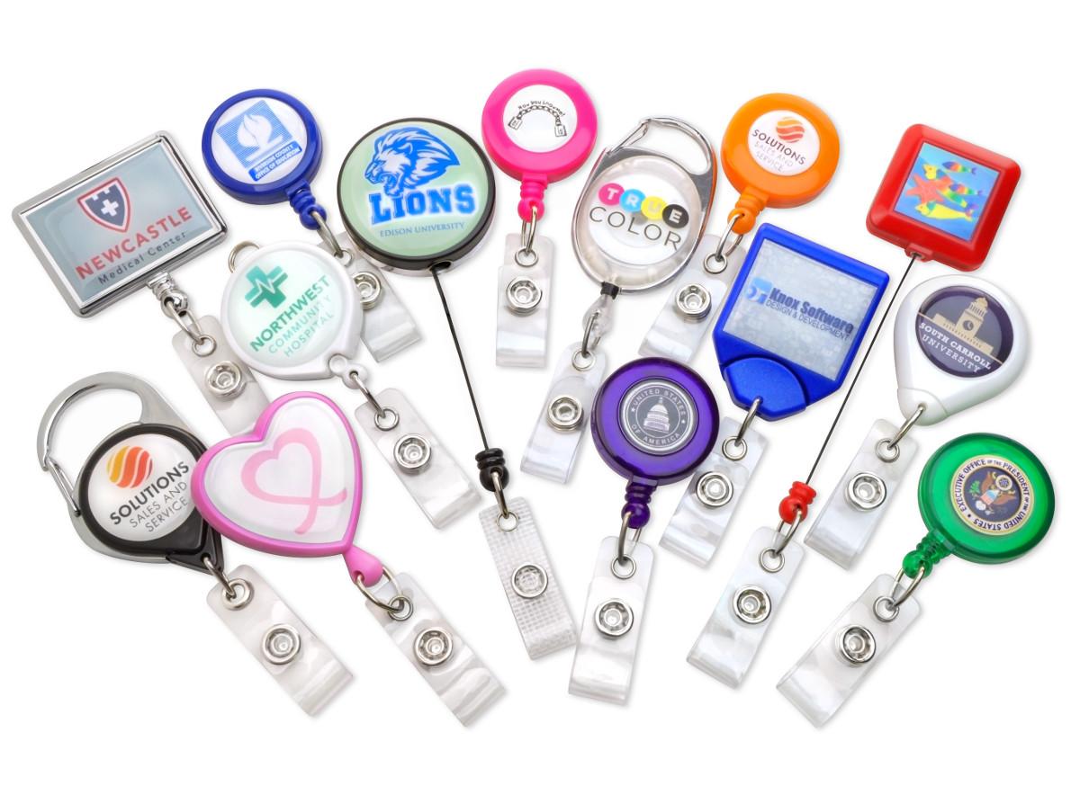 Identicard insights custom badge reels what kind of badge reel end fittings do we offer solutioingenieria Gallery