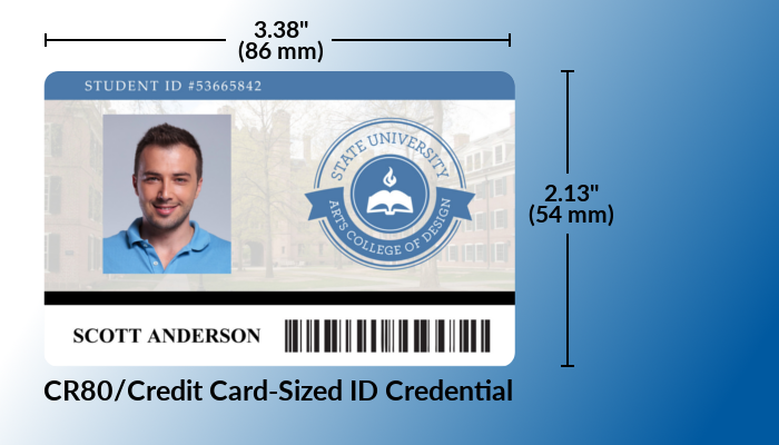 Cr What The Difference Between Cr80 And Cr100 Id Cards