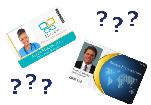 The 3 Most Common Id Card Sizes Infographic